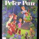 Walt Disney's Peter Pan Giant Golden Book 1980 Lost Boy