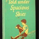 Told Under Spacious Skies Vintage Bedtime Stories 1952