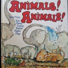 Animals Animals Peter Lippman Giant Golden Bk Elephants