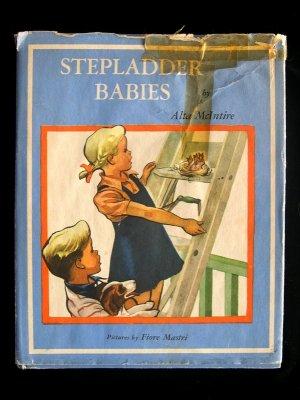 Steppladder Babies Bird Nest McIntire Vintage HC Mastri
