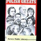 Polish Greats Arnold Madison Biographies Vintage HCDJ