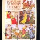 Popular Nursery Rhymes Mother Goose Explained HC 1981