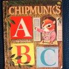 Chipmunk's ABC Richard Scarry Golden Book Miller 1969