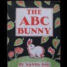 The ABC Bunny Wanda Gag 1st Paperback Ed Alphabet Song
