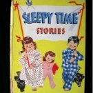 Sleepy Time Stories Hilda Frommholz Bedtime Vintage HC