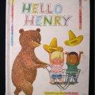Hello Henry Ilse Margret Vogel Bear Boys Vintage 1965