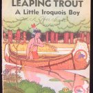 Leaping Trout a Little Iroquois Boy Indian Vintage SC
