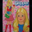 Growing Up Skipper Paper Doll Coloring Book SC Mattel