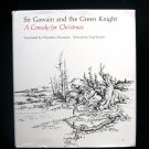 Sir Gawain and the Green Knight Silverstein Burnett HC