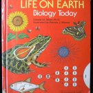 Life on Earth Biology Today Silver Wynne Nature HC 1983