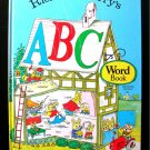 Richard Scarry's ABC Word Book Picture Dictionary 1971
