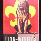 Lion Webelos Wolf Cub Scout Books Vintage SC 1950's