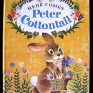 Here Comes Peter Cottontail Easter Song Vintage HC 1961