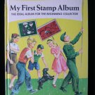 My First Stamp Album Beginning Collector Vintage 1973