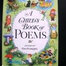 A Child's Bok of Poems Gyo Fujikawa Bedtime Vintage HC