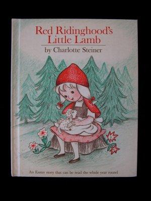 Red Ridinghood's Little Lamb Easter Steiner Vintage HC