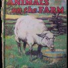 Animals on the Farm John Allen Victor Becker Vintage HC
