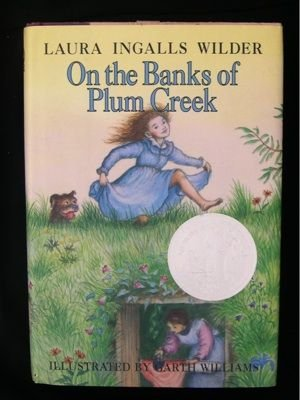 On the Banks of Plum Creek Garth Williams Wilder HCDJ