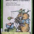 Merry Merry Fibruary Doris Orgel Arnold Lobel HCDJ 1977