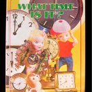 What Time is It? Puppet Storybook Izawa Board Book 1968