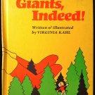 Giants Indeed Virginia Kahl Young Boy Vintage HC 1974