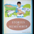 Stories to Remember Gateways to Reading Treasures 1961