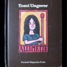 Allumette Tomi Ungerer Generous Match Girl Fable 1974