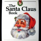 The Santa Claus Book Alden Perkes Christmas HCDJ 1st ED
