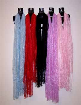 Light Blue Fashion Scarfs