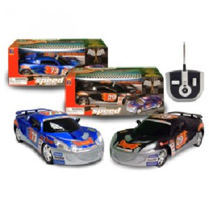 Black RC Speed Race Car