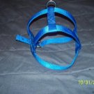 Large Blue Dog Harness Made USA Tough Metal Hardware