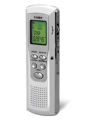 Coby Digital Voice Recorder