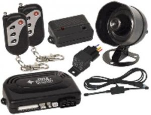 Pyle (PWD121) One Way Alarm System w/Four Button Remote and Remote Start