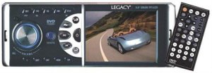 """Legacy LD53UM In-Car DVD Player with 3.5"""" TFT LCD Monitor"""