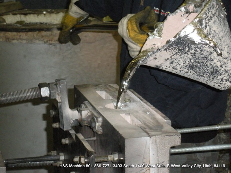 Quality Aluminum Brass Zinc Copper Base Alloy Permanent Molding