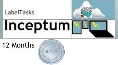 LabelTasks Inceptum - 12 Months Silver Package