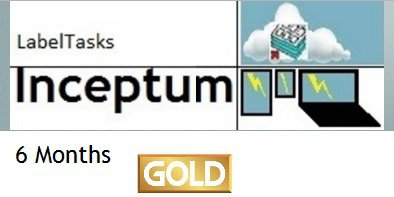 LabelTasks Inceptum - 6 Months Gold Package
