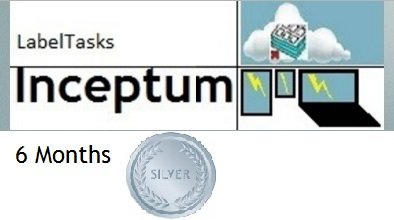LabelTasks Inceptum - 6 Months Silver Package