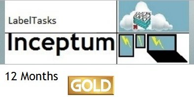 LabelTasks Inceptum - 12 Months Gold Package