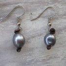 Black Pearl Single Earring