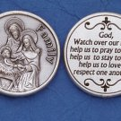 Holy Family Pocket Coin M-228