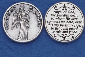 Guardian Angel Pocket Coin M-227
