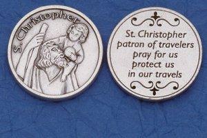 St. Christopher Pocket Coin M-232