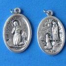 Our Lady of Lourdes / St. Bernadette Medal M-46