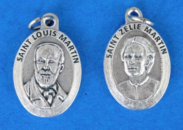 Sts. Zelie and Louis Martin Medal M-321