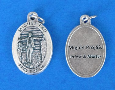 ***EXCLUSIVE*** Blessed Miguel Pro Medal M-331