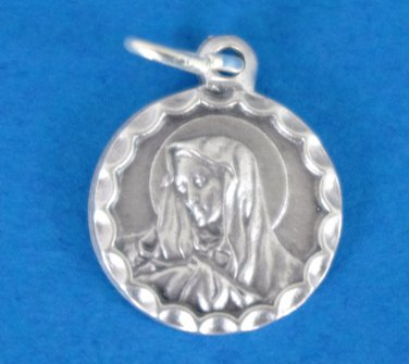 Round Our Lady of Sorrows Medal M-318