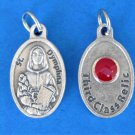St. Dymphna Third Class Relic Medal M-216