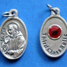 St. Padre Pio Third Class Relic Medal M-209