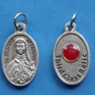 """St. Therese """"Little Flower"""" Third Class Relic Medal M-212"""